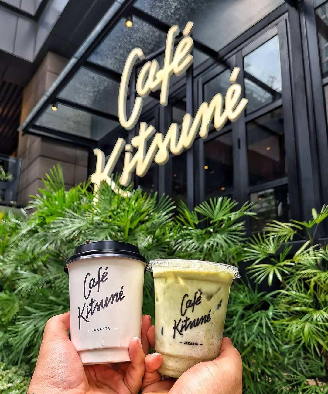 Minuman di Cafe Kitsune, Image From @eatandtravelsstory