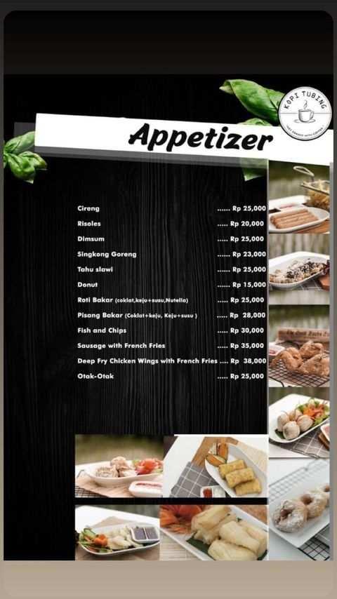 Nebu Appetizer di Kopi Tubing Bogor Image From @kopitubing