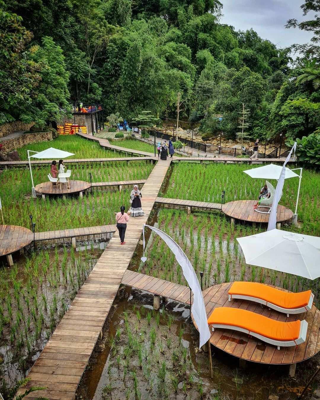 Spot Foto di Kopi Tubing Bogor IMage From @inspiringfoodstory