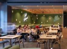 Suasana di Cafe Kitsune Jakarta, Image From @manualjakarta