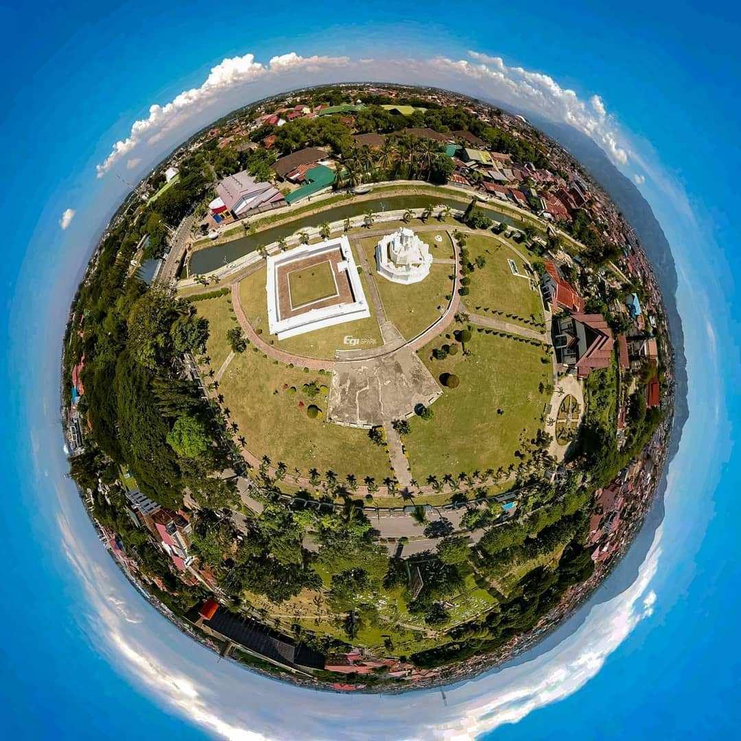 Taman Sari Gunongan Aceh 360 Image From @egreebrew