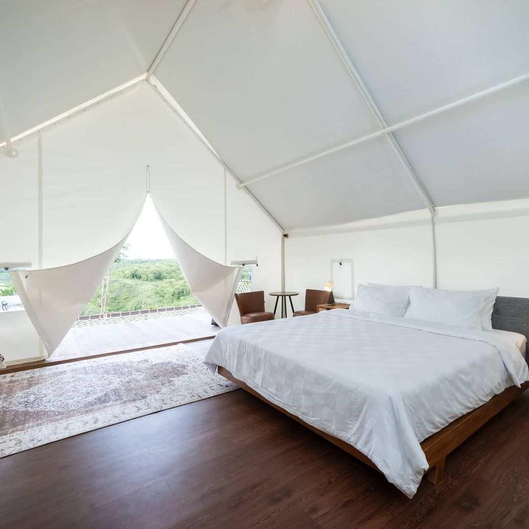 Bagian Dalam Kamar Giri Wanara Camping Resort Image From @wunung_gsk