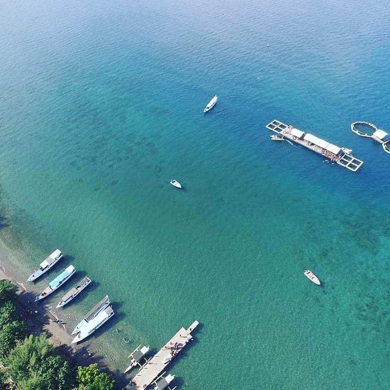 Bangsring Underwater Banyuwangi Dilihat Dari Atas Image From @bangsring.underwater