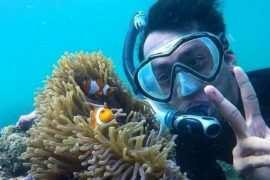 Berfoto di Dalam Air di Bangsring Underwater Banyuwangi Image From @badrusofa 270x180