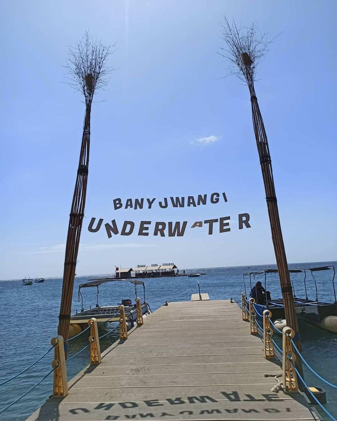 Dermaga di Bangsring Underwater Banyuwangi Image From @lagimaufotoaja