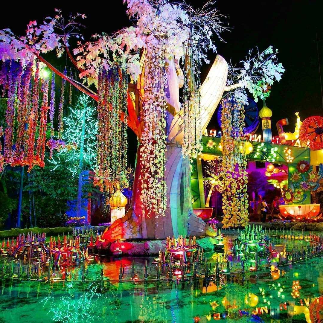 Gemerlap Lampu di Malang Night Paradise Image From @malangplace