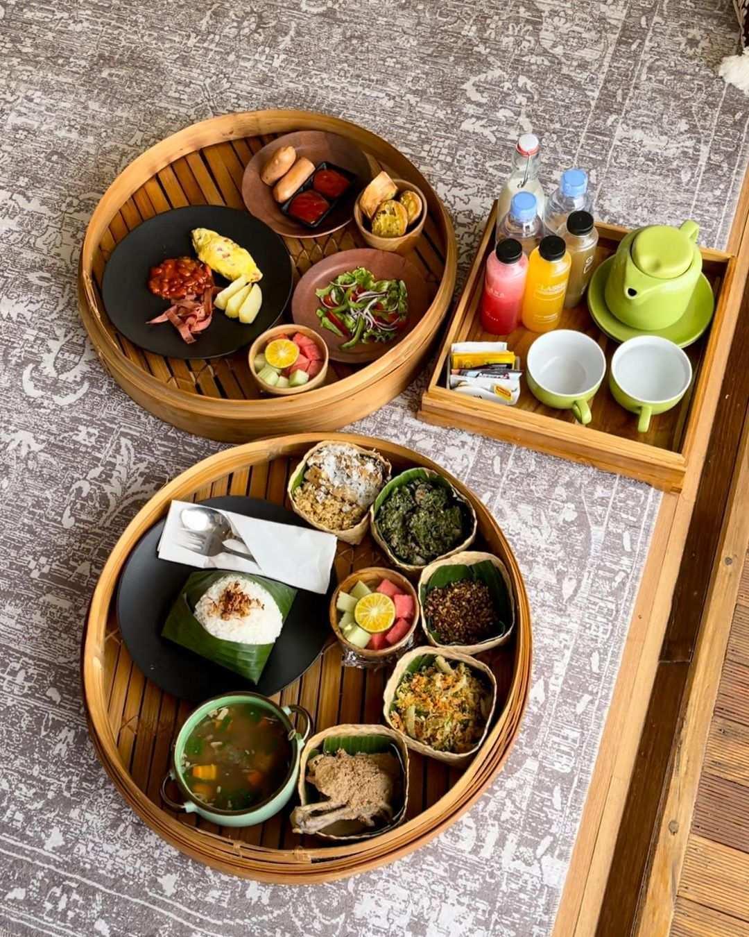 Makanan di Giri Wanara Camping Jogja Image From @wonderfuljogja