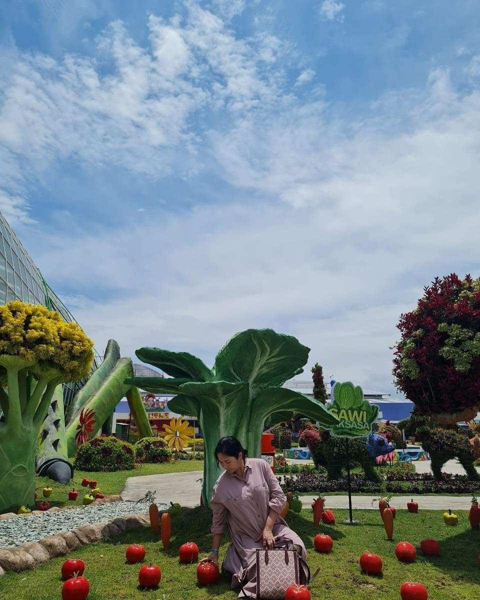 Taman Sayuran di Batu Love Garden Kota Batu Image From @megahwati1590