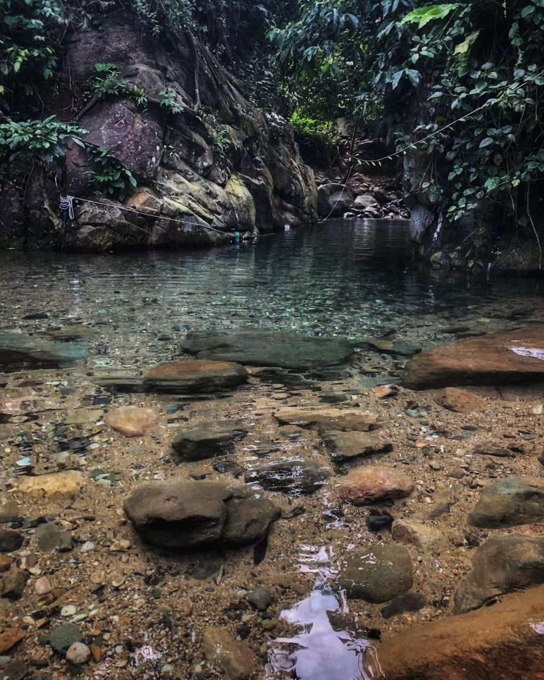 Jernihnya Air Di Leuwi Cepet Bogor Image From @dianatiwi
