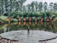Pemandanga Danau di Dusun Bambu Bandung Image From @rhy.ndra_ 200x150