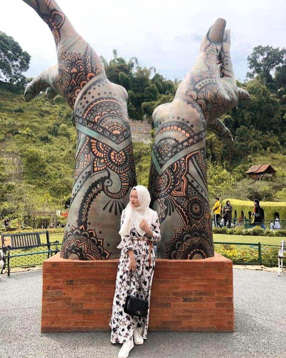 Spot Foto di Dusun Bambu Lembang Image From @desy_selviani
