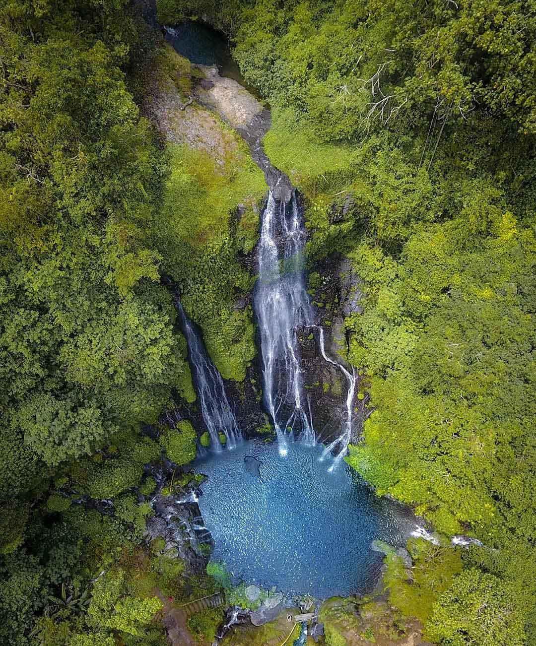 Air Terjun Banyumala Dilihat Dari Atas Image From @rakaontrip