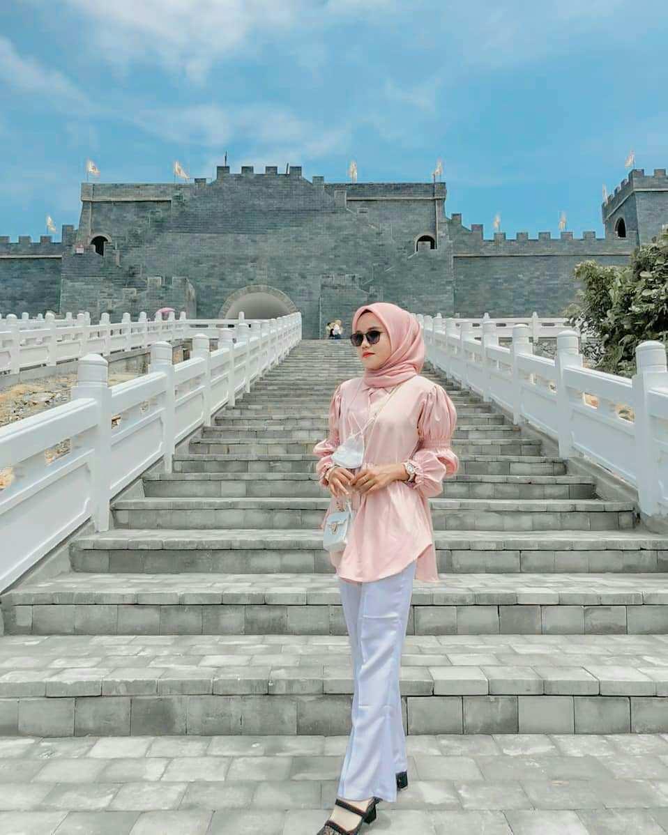 Berfoto di area Great Wall Asia Heritage Image From @putryarta_