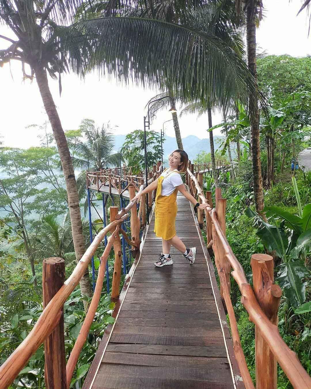 Jembatan Di Bukit Wisata Pulepayung Kulonprogo Image From @vhe_mel_azzahra