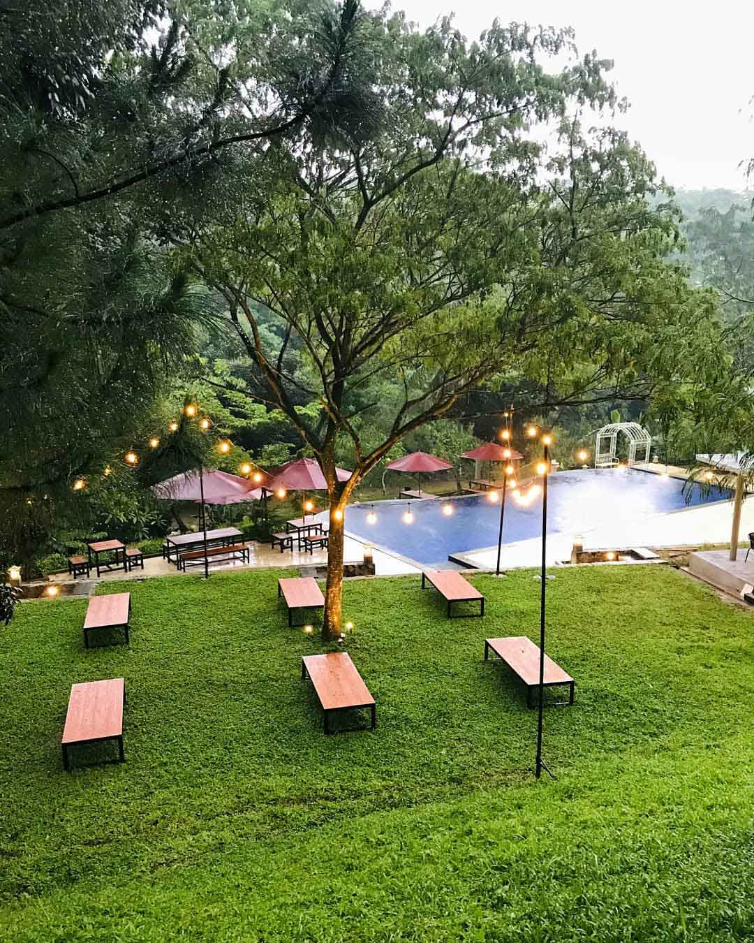 Tempat Duduk di Paradesa Park Bogor Image From @nadi_ngopi