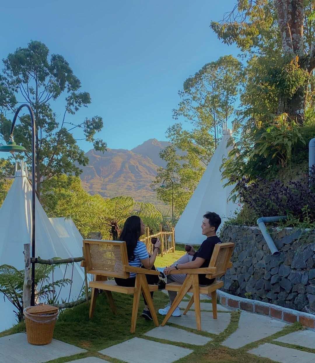 Menikmati Waktu Di Alam Caldera Camping Bali Image From @permanafendi