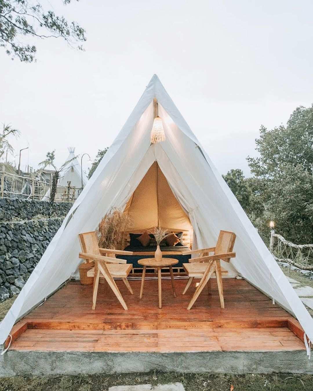 Tenda Camping Di Alam Caldera Image From @liburanbali