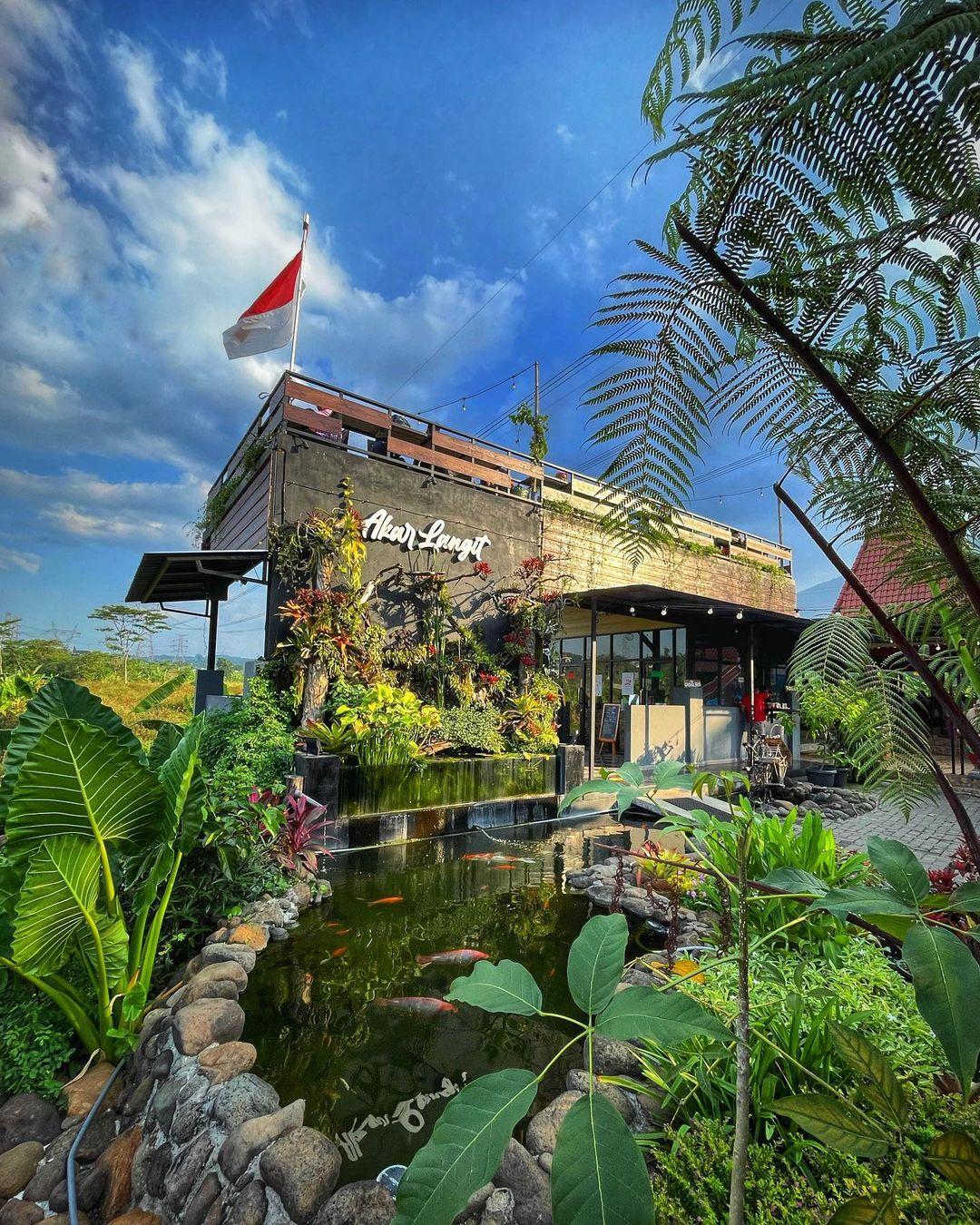 Cafe Akar Langit Image From @gongtogong