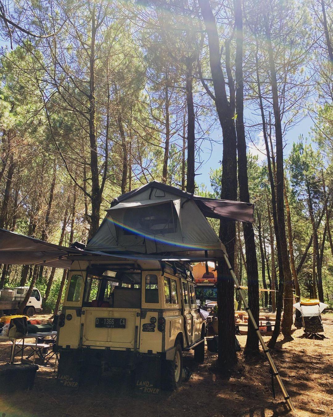 Camper Van Di Jungle Milk Lembang Image From @antinadzarini
