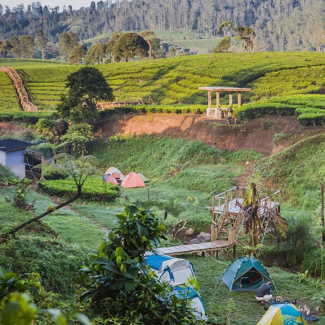 Camping Di Wisata NUansa Riung Gunung Bandung Image From @ridwansyah888