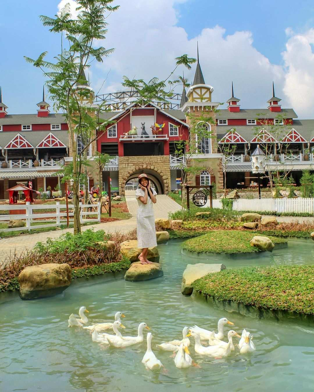 Duck Pond Di Cimory Dairyland Puncak Image From @cimorydairyland Puncak