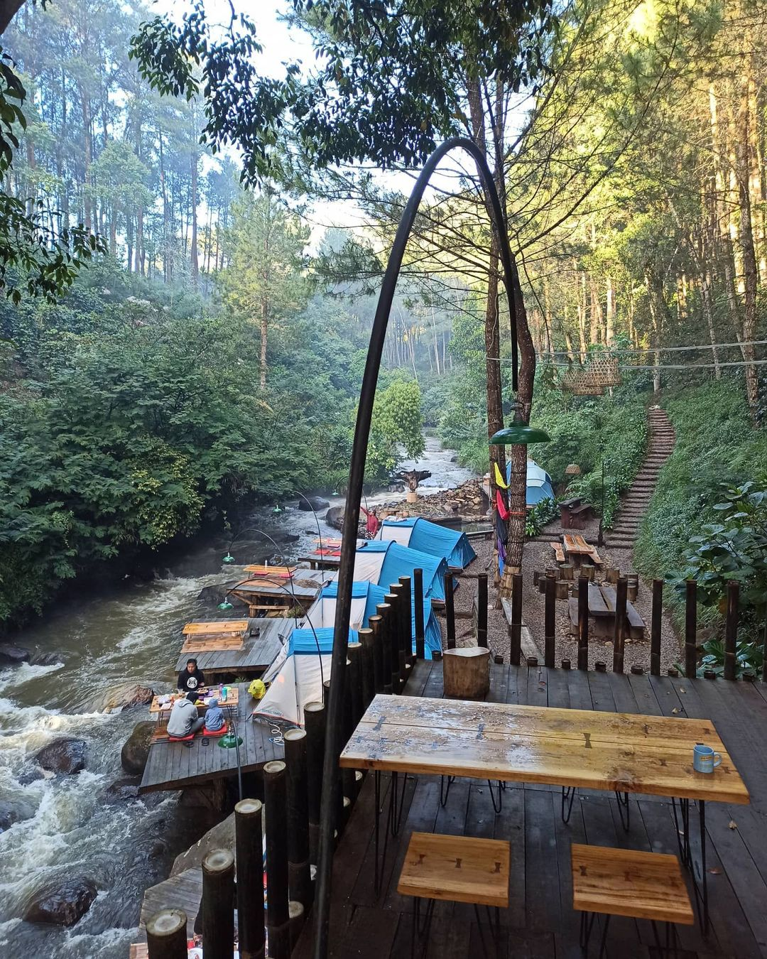 Fasilitas Pineus Tilu Pangalengan Image From @pineustilu