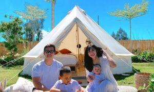 Liburan Keluarga Di Sunrise Hill Camp Bali Image From @wandhadwiutari