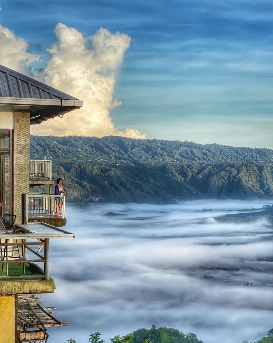 Pemandangan Awan Di La Vista Coffee Kintamani Image From @elimkat