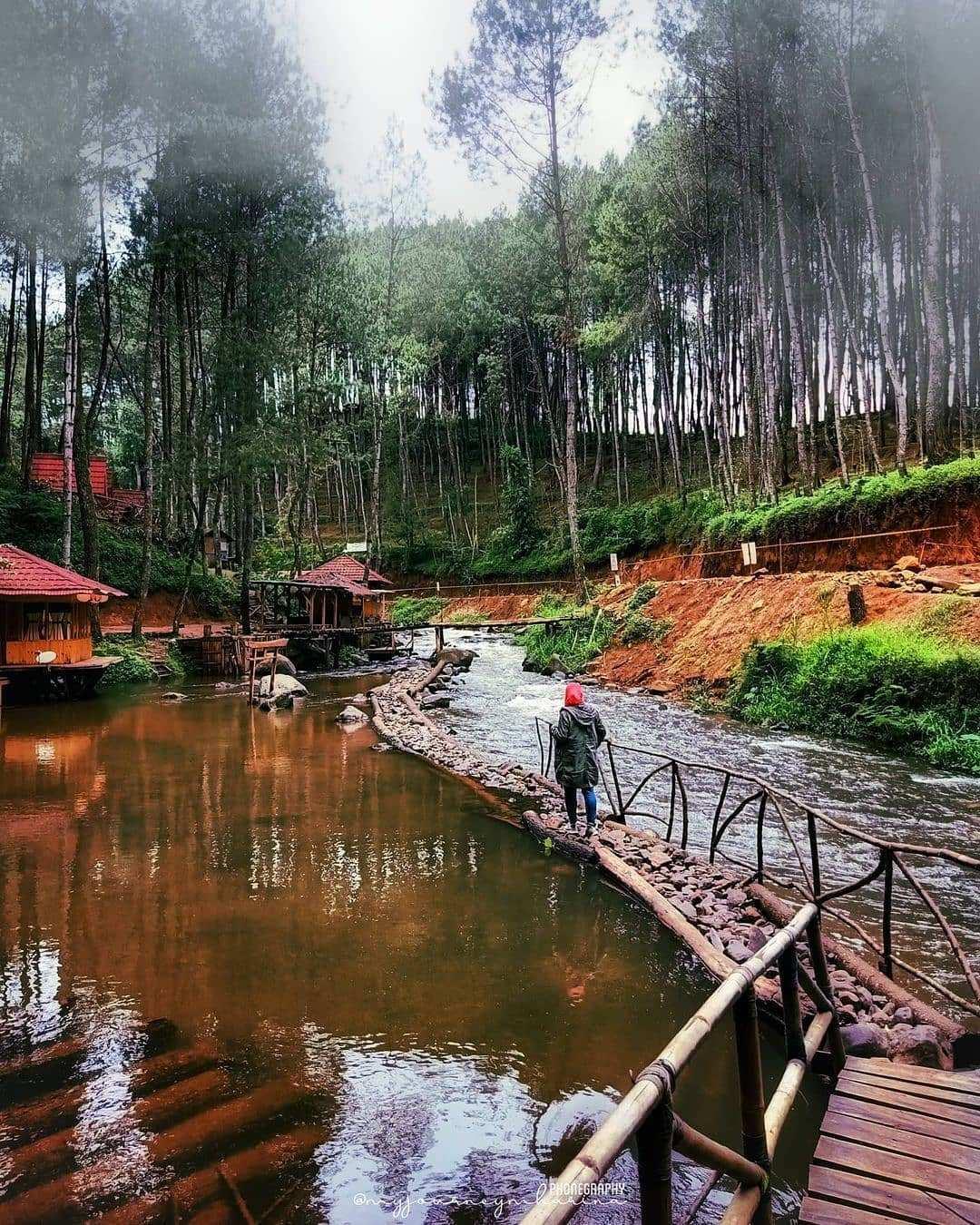Pemandangan Sungai Dan Kabut Di Kampung Singkur Image From @myjourneymharina
