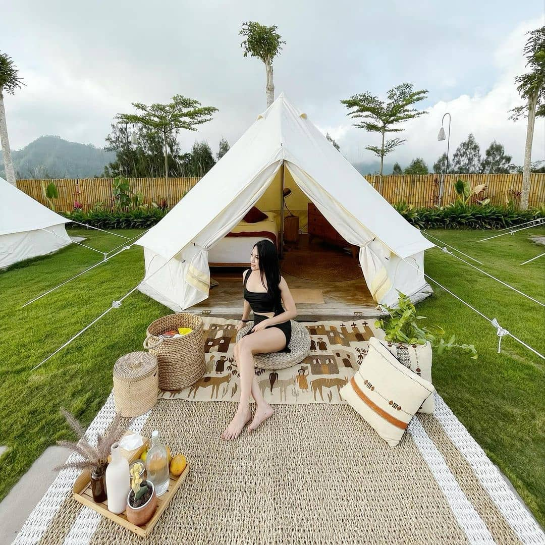 Piknik Di Sunrise Hill Camp Kintamani Image From @balibild