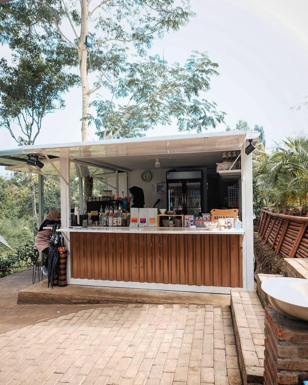 Tempat Memesan Menu Di Atanapi Coffee Camp Image From @gemarngopi