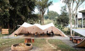 Tenda Di Atanapi Coffee Camp Bandung Image From @gemarngopi