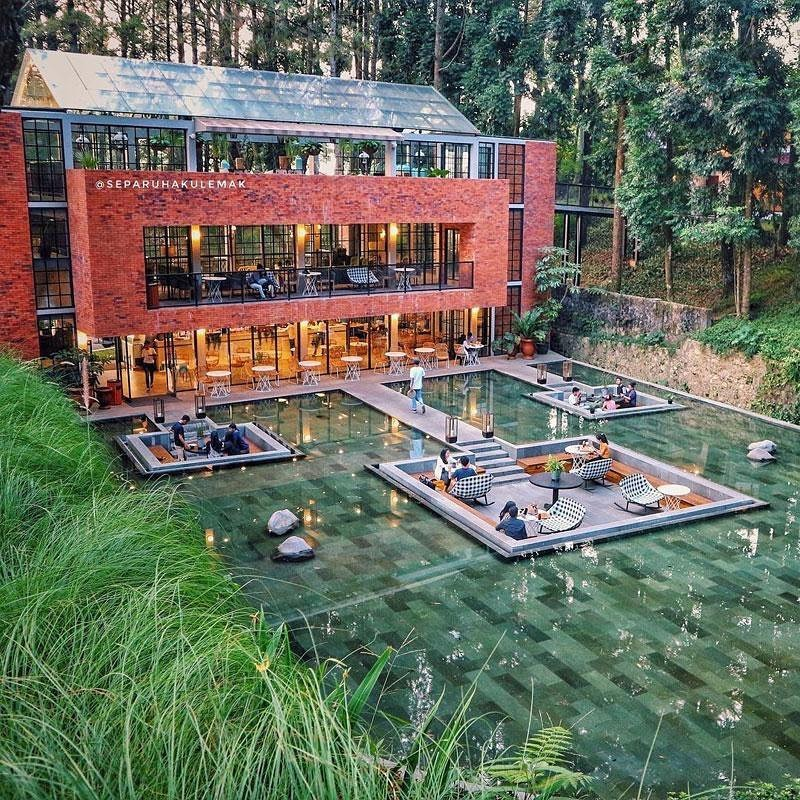 The Lake House Bogor Image From @arsicity Id_