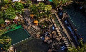 Wisata Taman Batu Purwakarta Dilihat Dari Atas Image From @purwakartaendah