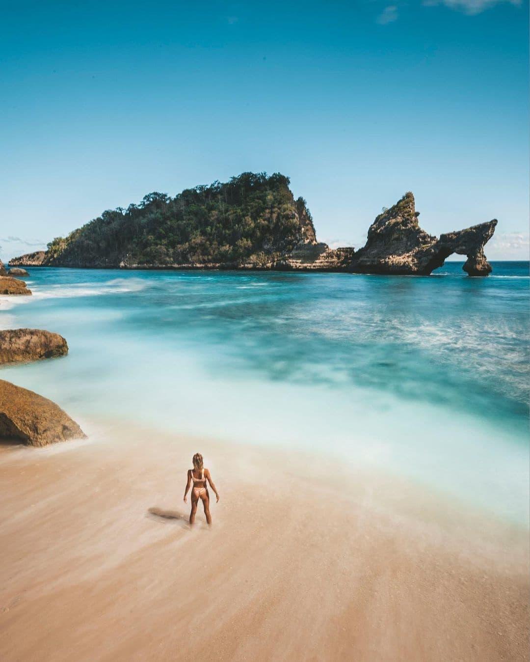 Atuh Beach Nusapenida Image From @christianals
