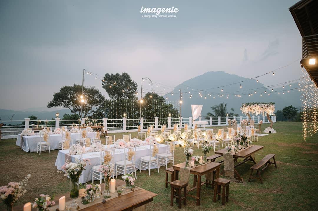 Event Wedding Di Pancar Garden Image From @wiwingkosasih