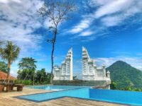 Gapura Yang Ada Di Mandapa Kirana Resort Image From @liusjohanmdo