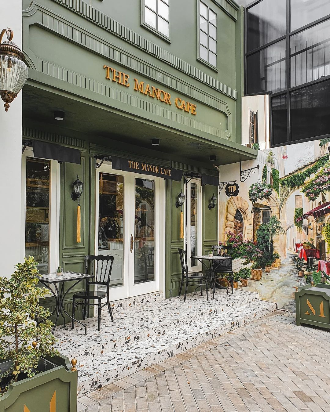 Lokasi The Manor Cafe Depok Image From @saepulhdyt