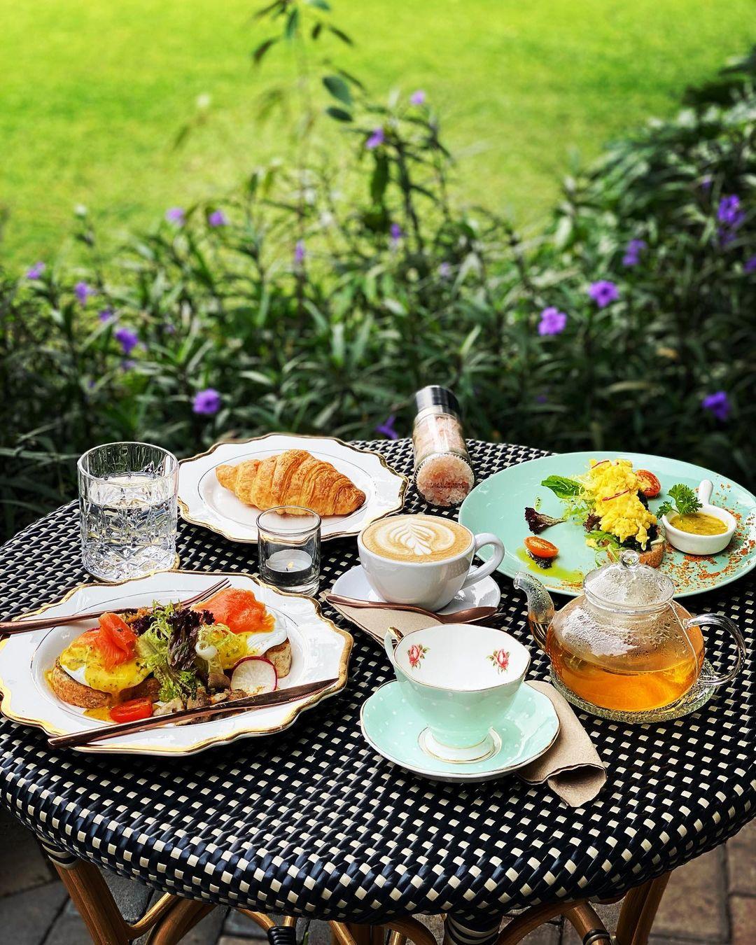 Makanan Di The Manor Cafe Image From @hadijahaljufri