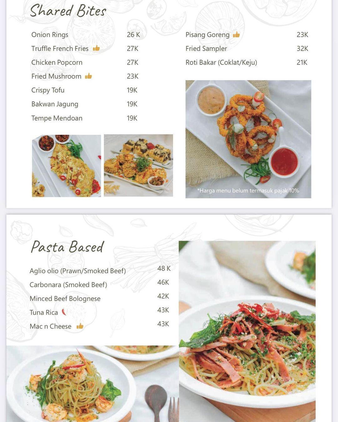 Menu Makanan 2 Padiku Eatery Image From @hargamenucek