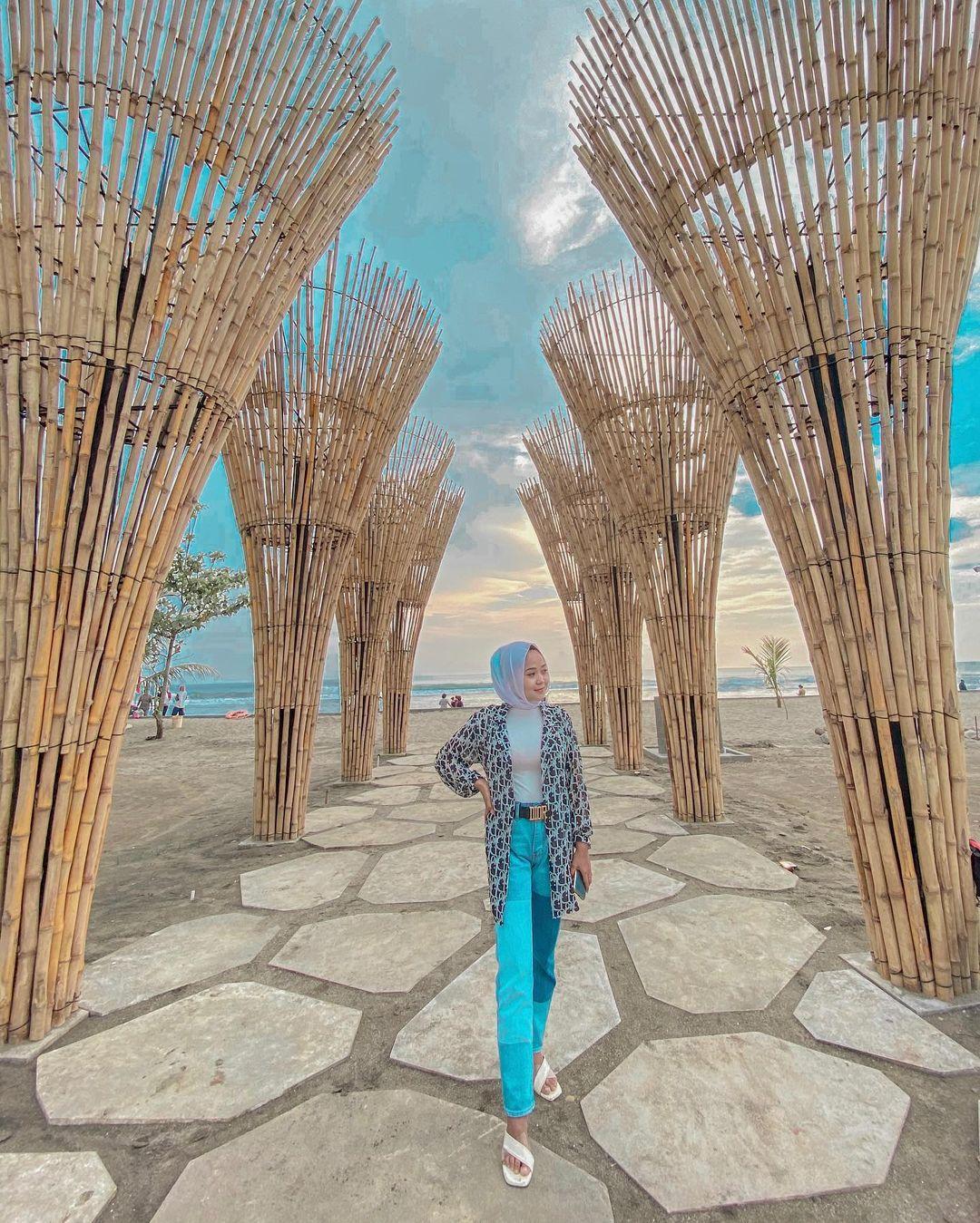 Pantai Di Novus Jiva Villa Image From @meganurhadillah