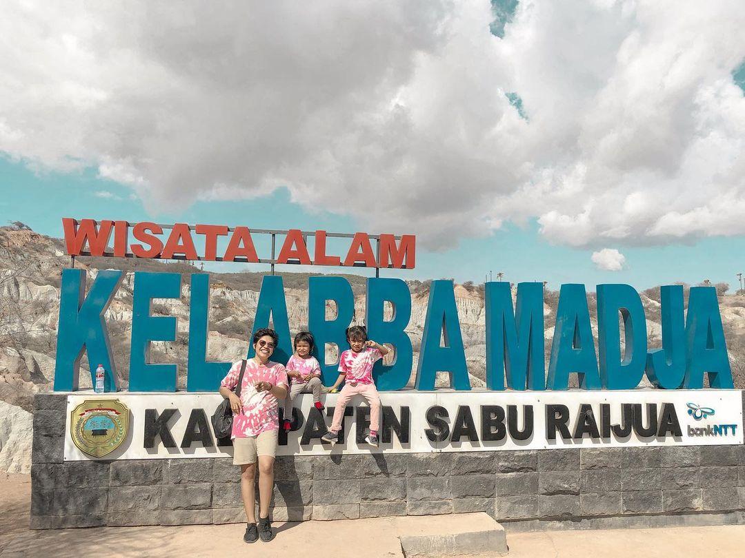 Wisata Alam Kelabba Madja NTT Image From @vennyrozelldemu